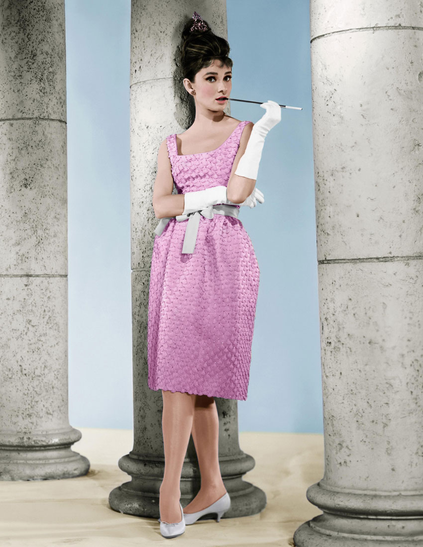 fashion icons in movies audrey hepburn dress in breakfast at tiffany's 1961 850 x 1100