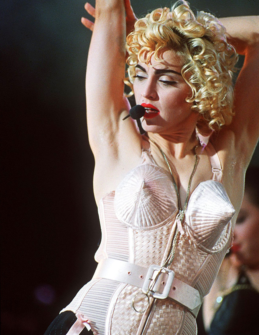 madonna iconic fashion looks jean paul gaultier bra 850 x 1100