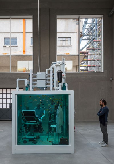 fondazione prada milan art installation 400 x 574