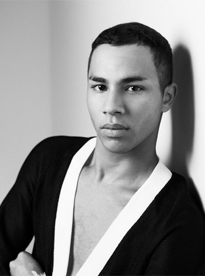 fashion icons 2016 olivier rousteing creative director of balmain 400 x 538