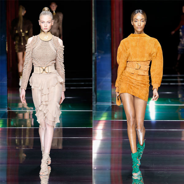 balmain ss16 women's collection designed by olivier rousteing 600 x 600