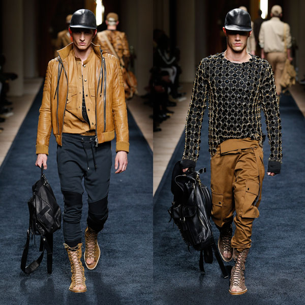 ss16 balmain men's collection designer by olivier rousteing 600 x 600