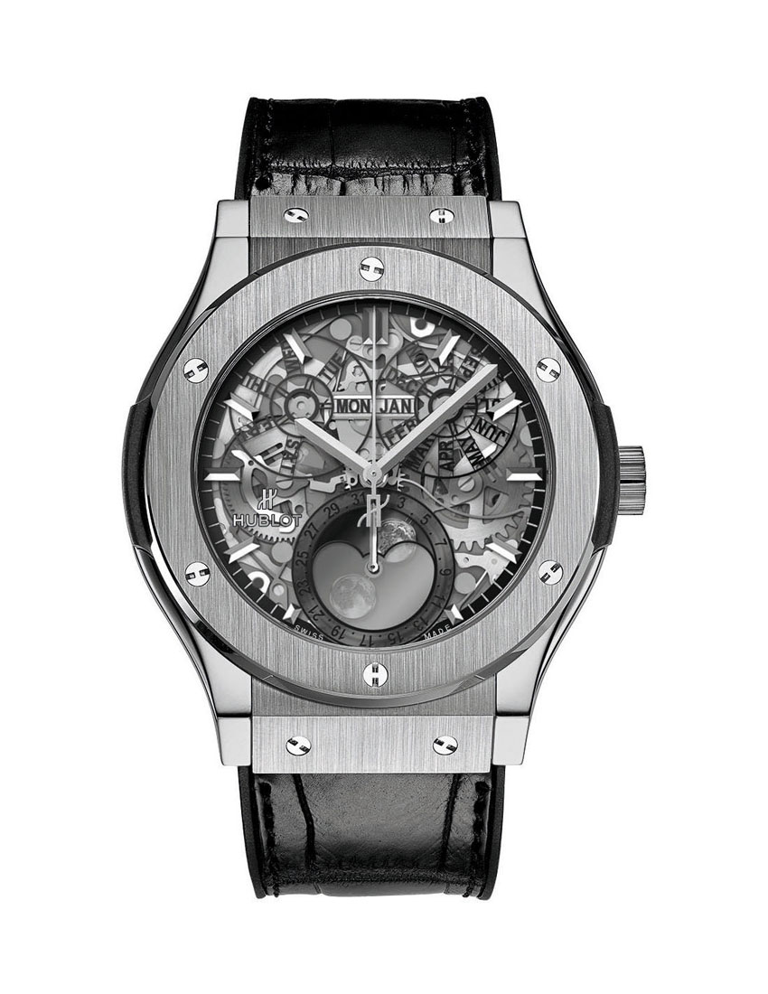 hublot classic fusion aerofusion moonphase tutanium women's luxury watch brands 850 x 1100