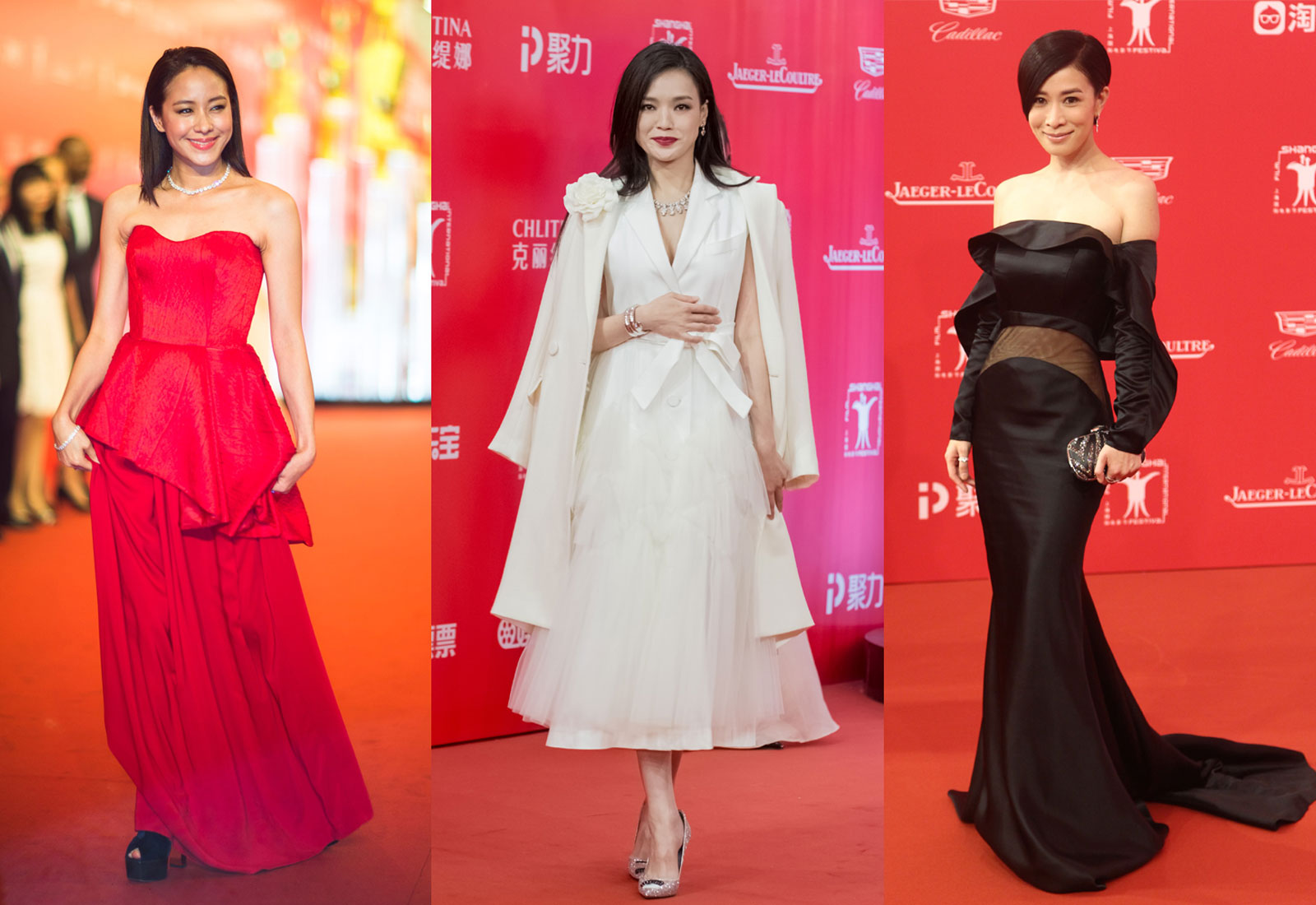 2016 shanghai film festival red carpet fashion roundup shu qi karena lam charmaine sheh 1600 x 1100