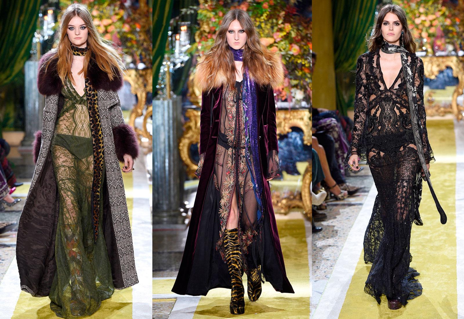 roberto cavalli aw16/17 fashion show vampire inspired looks 1600 x 1100