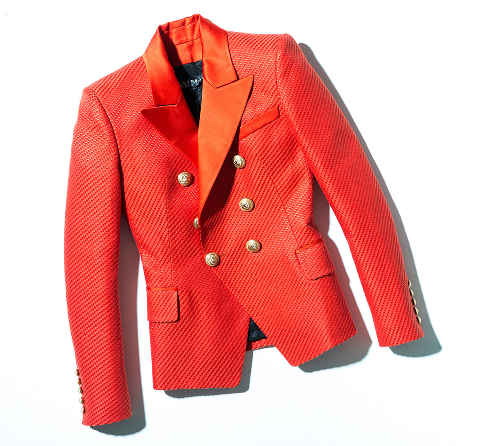 balmain red blazer for women shop the boulevard at studio city macau 994 x 910