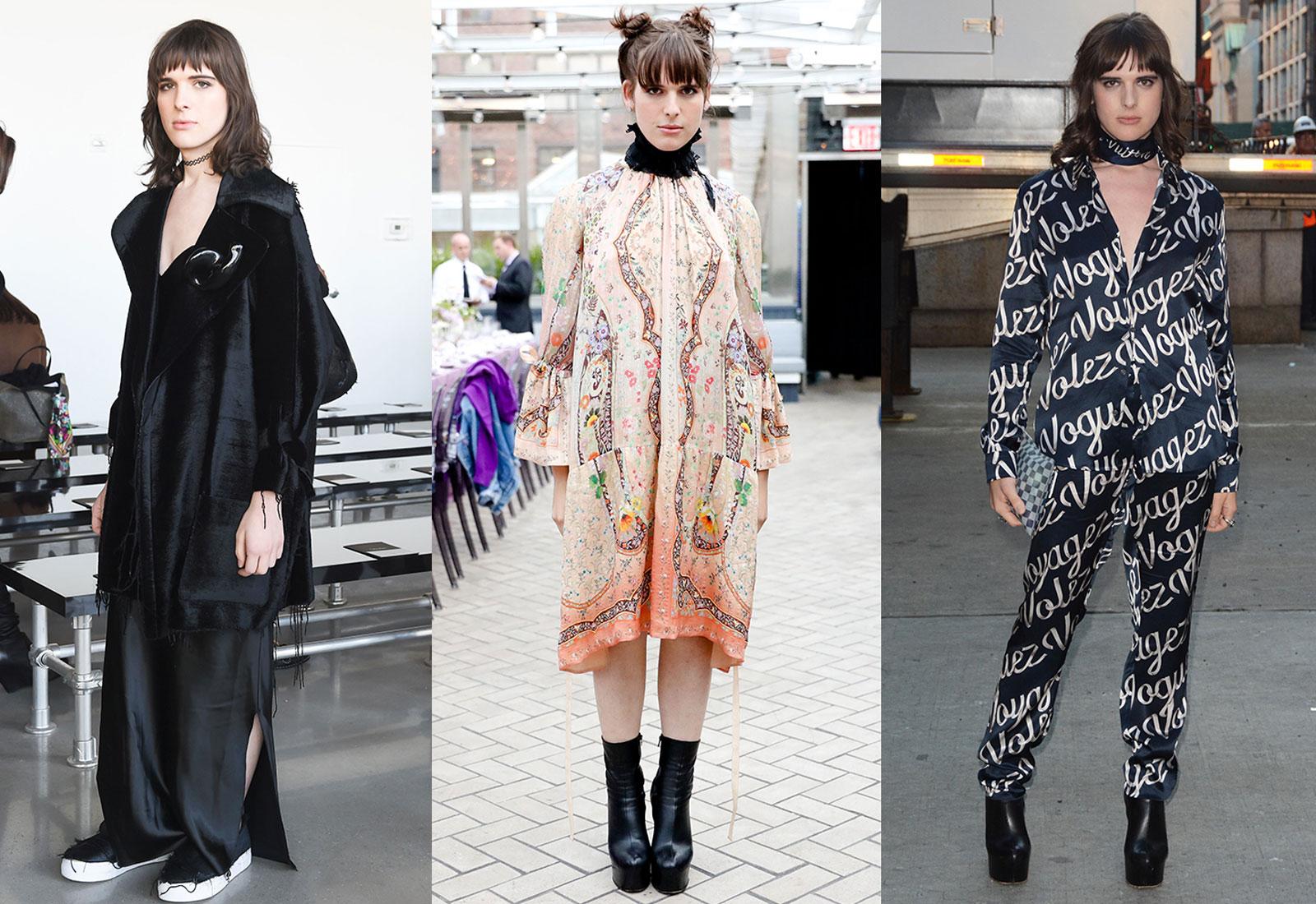 hari nef street fashion three looks 1600 x 1100