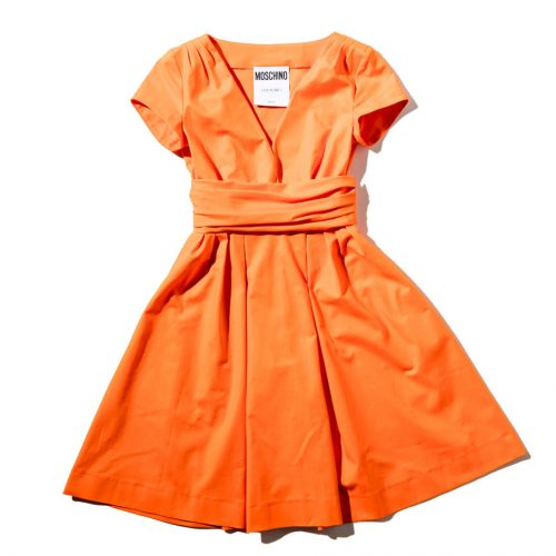 Moschino Couture Orange Dress shop the boulevard at studio city macau 994 x 910