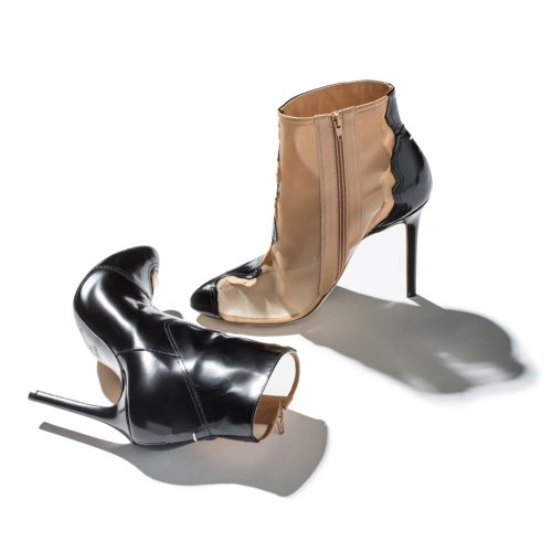 Maison Margiela Heels two-tone brown and black