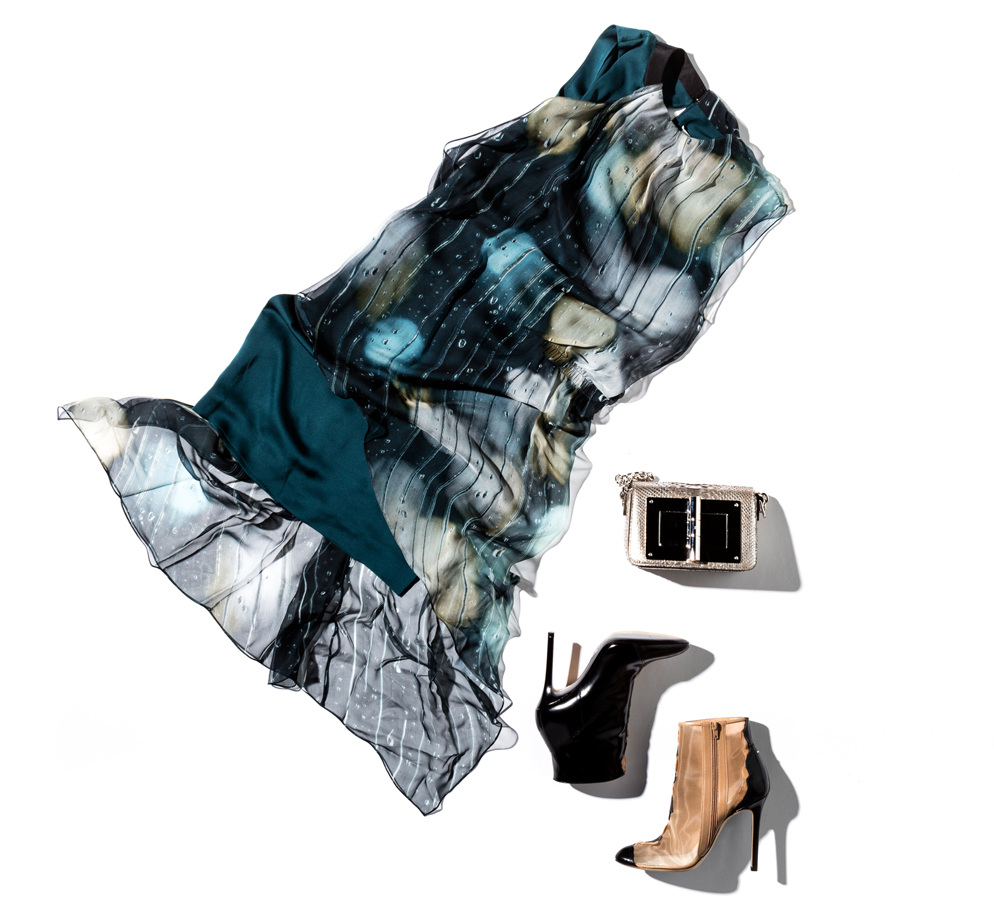 black tie dresses maison margiela and tom ford accessories