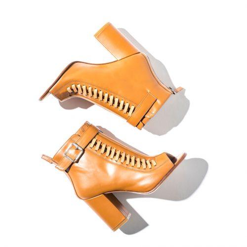 safari outfit Belstaff Brinkley High Heel Sandals in tan brown 994 x 910