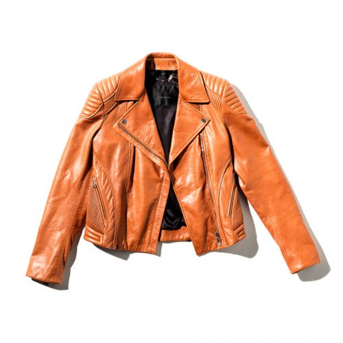 safari outfit Farindon Leather Jacket in brown 994 x 910