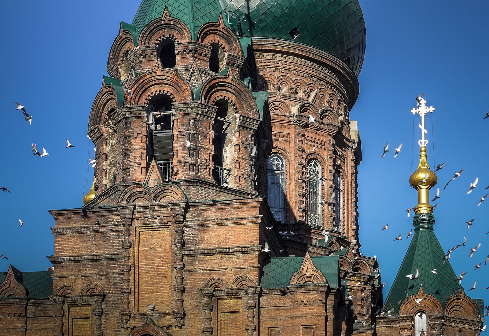 top china destination saint sophia cathedral harbin 1600 x 1100
