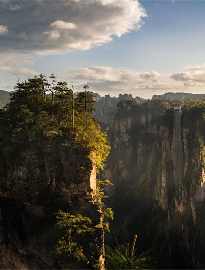 top china destinations zhangjiajie national forest park heavenly pillar hunan province 400 x 526
