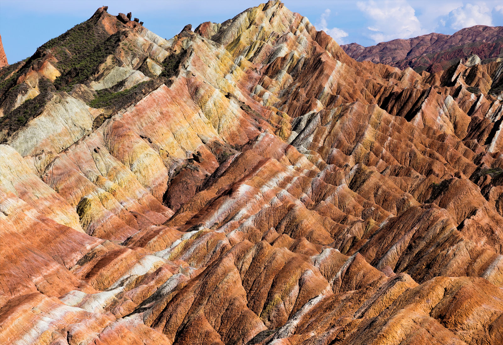 top china destinations zhangye danxia geopark gansu 1600 x 1100