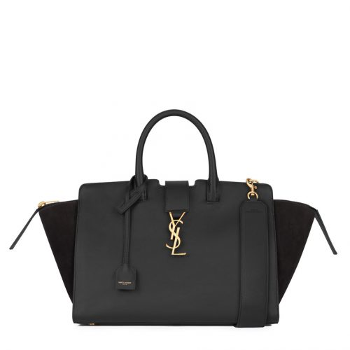 YSL Downtown Crocodile Suede Cabas handbag saint laurent
