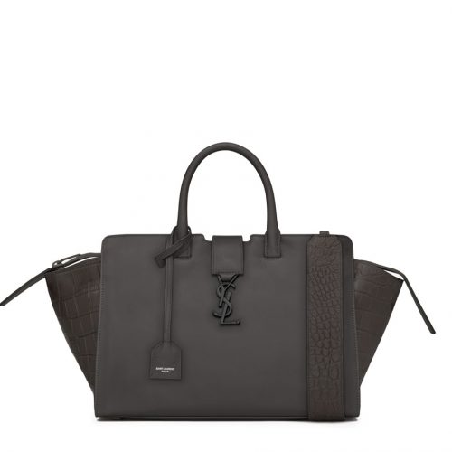 YSL Downtown Crocodile Leather Cabas saint laurent bag