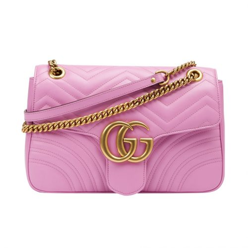 Gucci Pink GG Marmont Bag