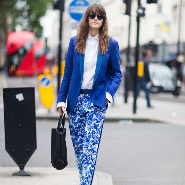 top fashion capitals featuring london fashion week street style blue womens suit 600 x 600