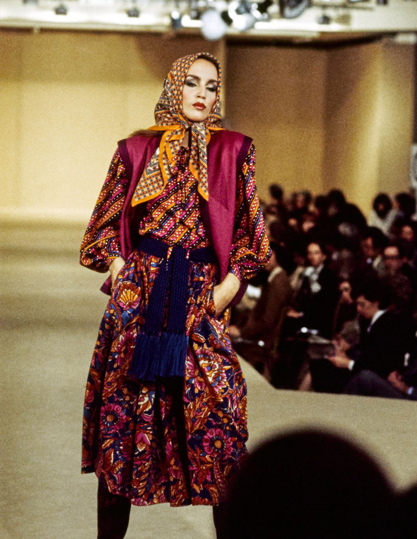 french fashion house yves saint laurent ysl top 5 looks featuring the peasant dress launched in ballet russes collection 1975 850 x 1100