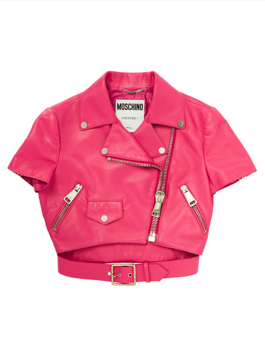 moschino fashion top 5 looks featuring 2015 barbie pink jacket designed by jeremy scott 850 x 1100
