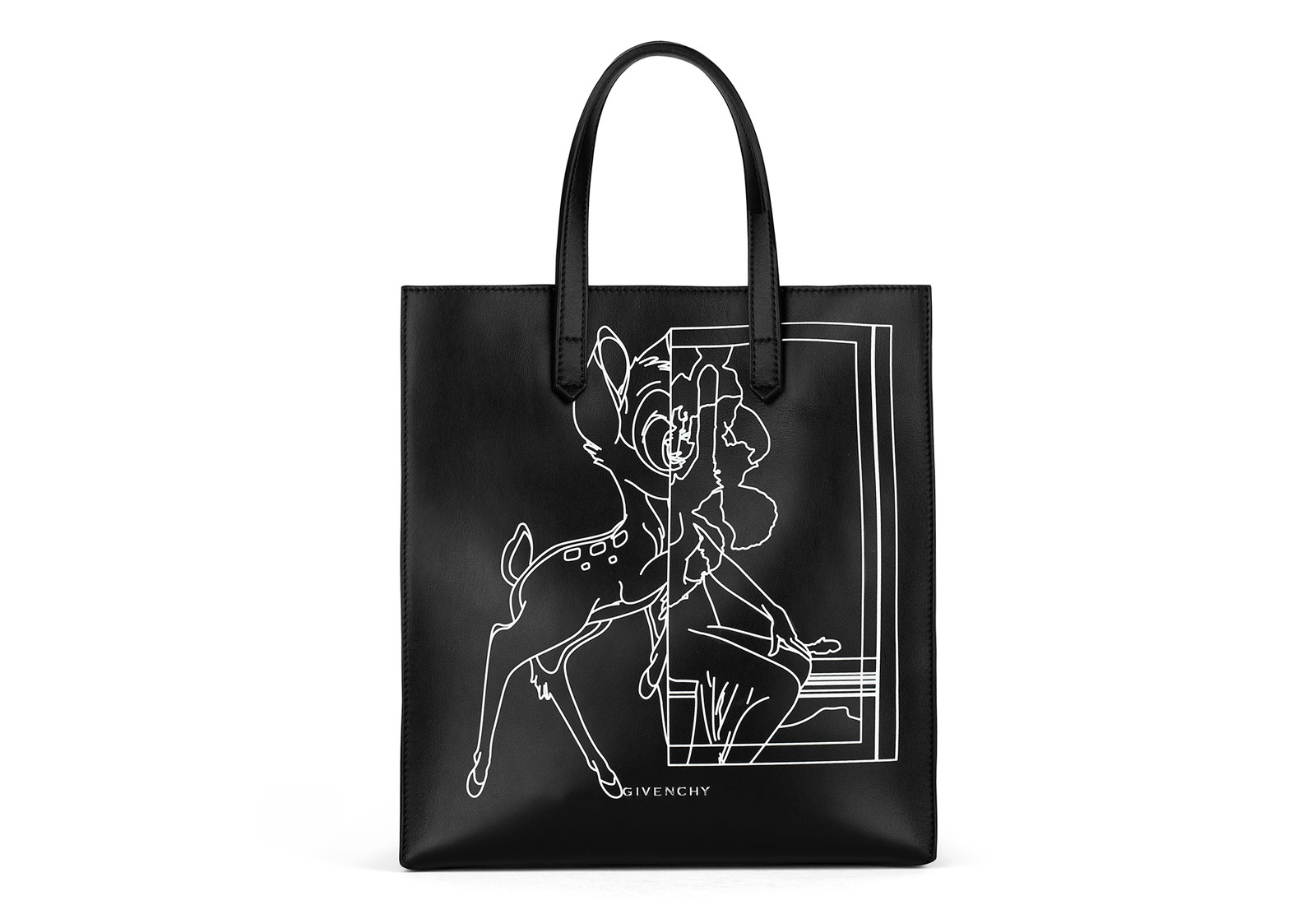 cartoon couture featuring givenchy bambi totebag 1600x1100