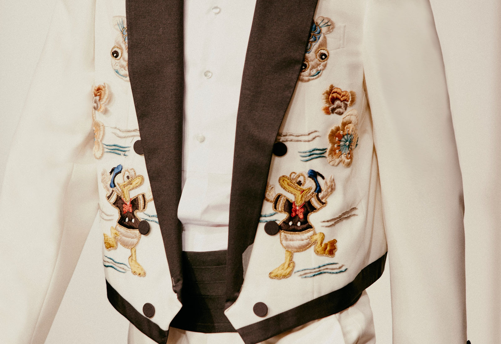 cartoon couture featuring gucci menswear donald duck jacket 1600x1100