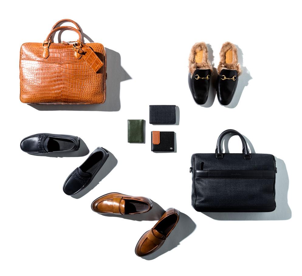 travel accessories for men featuring emernegildo zegna gucci bottega veneta