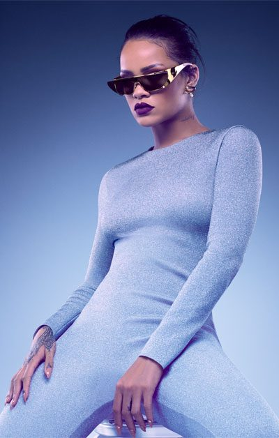 fashion and music collaborations featuring rihanna and christian dior sunglasses 400x628
