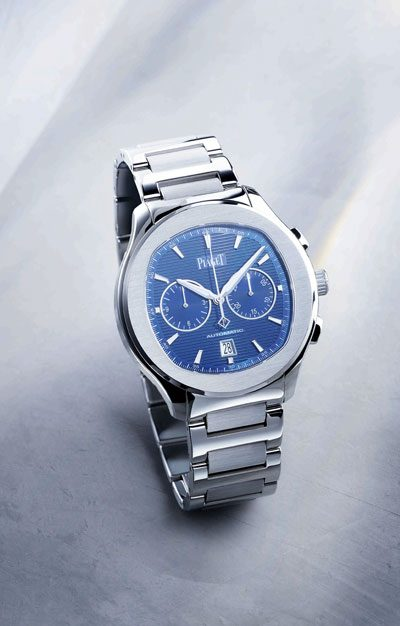 christmas gift guide to top 5 watches for men featuring piaget polo s watch 400x626