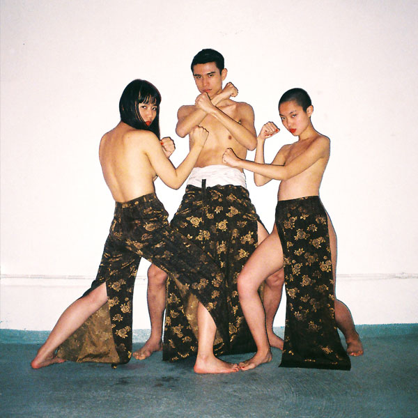 chinese fashion brand yat pit photographed by ren hang