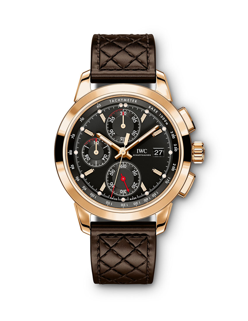 christmas gift guide to top 5 watches for men featuring iwc schaffhausen 74th members meeting at goodwood watch 850x1100