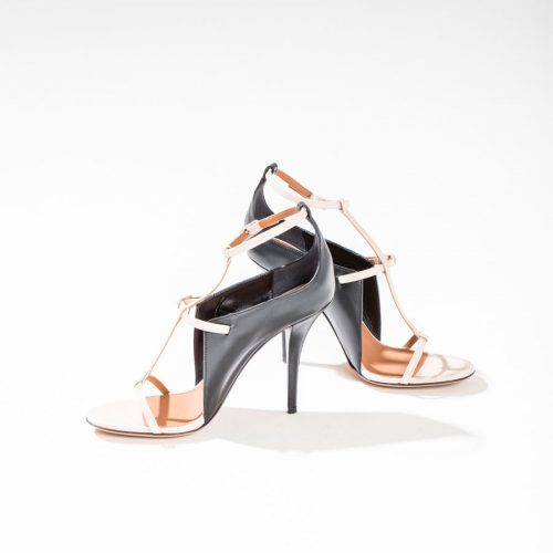 givenchy leather sandals high heels