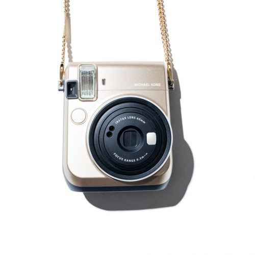 Michael Kors and Fujifilm Instax Camera limited edition