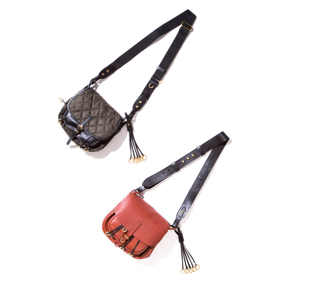 the leather satchel corsaire bag by prada