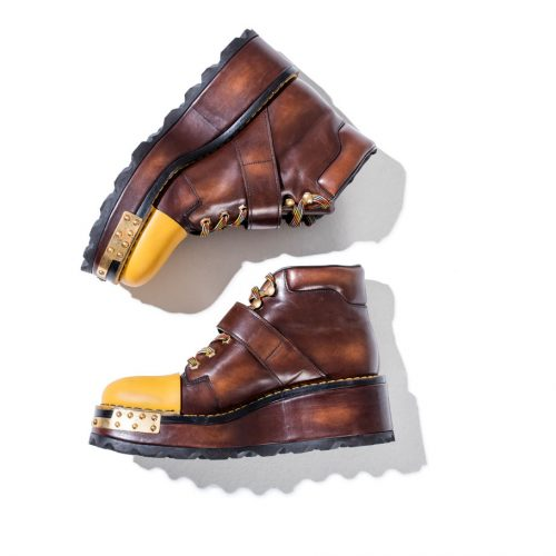 prada brown ankle boots for women