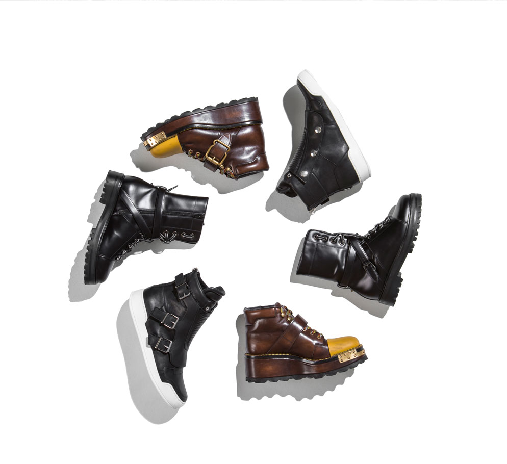 ankle boots for men featuring valentino prada balmain
