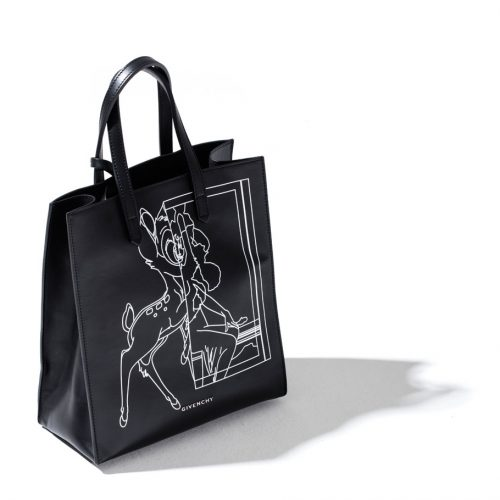 givenchy stargate small bag black with bambi print