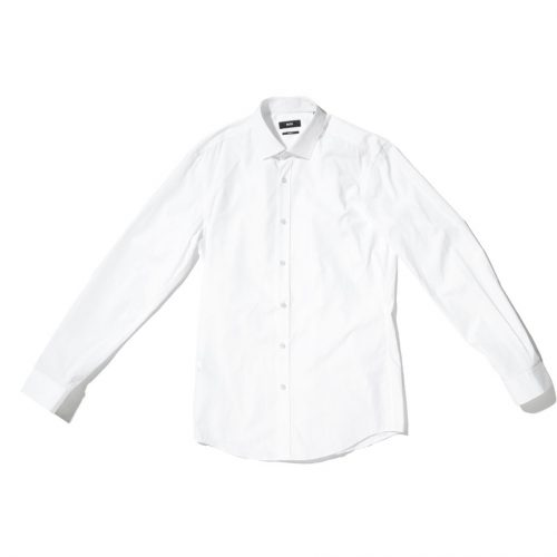 hugo boss classic white shirt for men