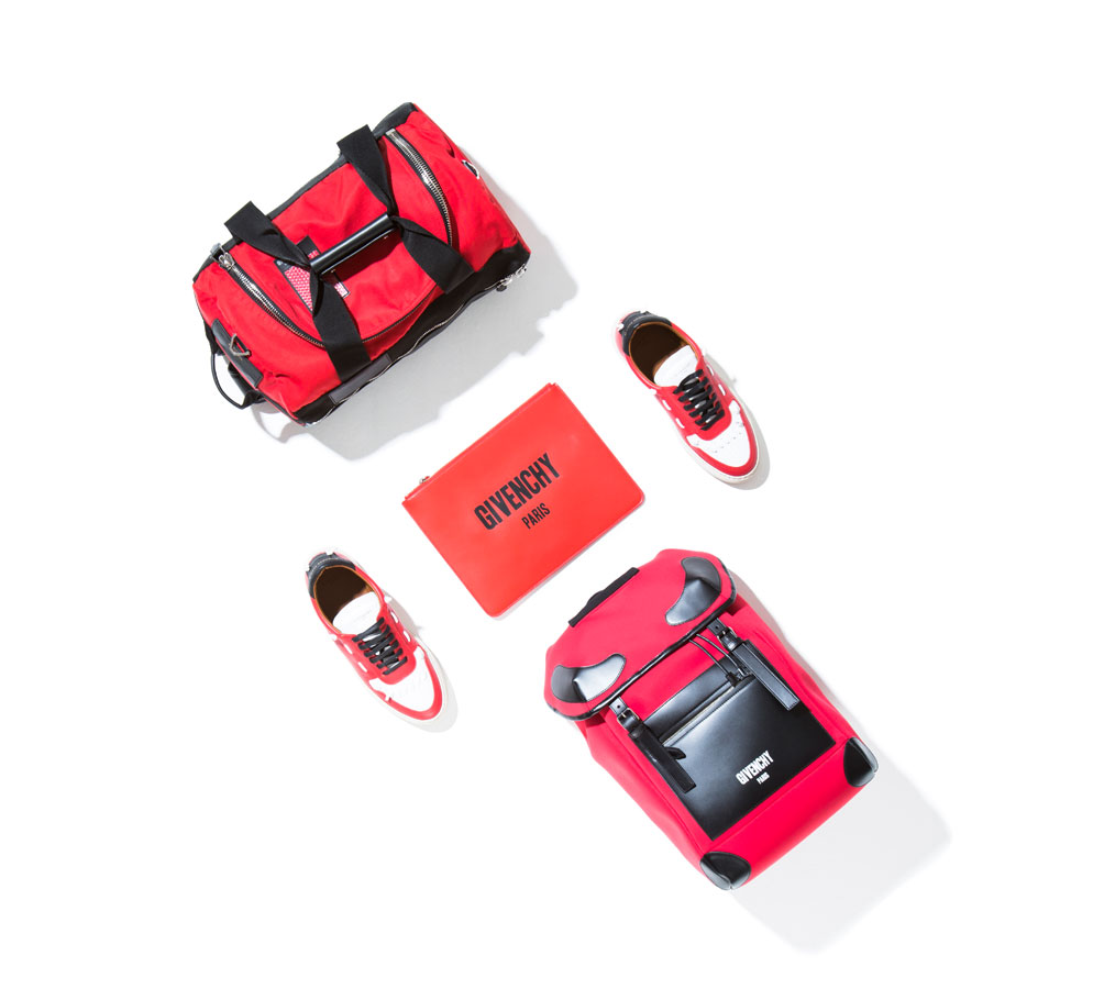 red gym bag for men from givenchy collection