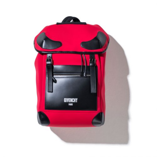 givenchy rider backpack for men in red