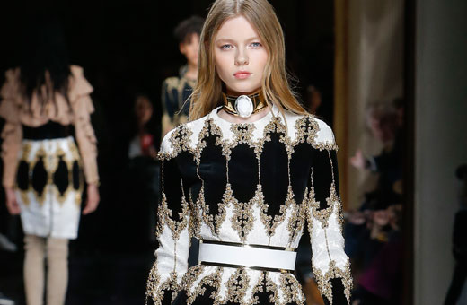 tips on how to dress well for 2017 featuring balmain runway look
