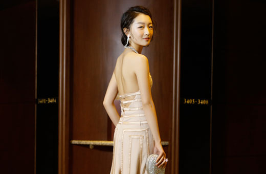 golden horse awards 2016 red carpet featuring zhou dong yu best actress winner of soul mate film