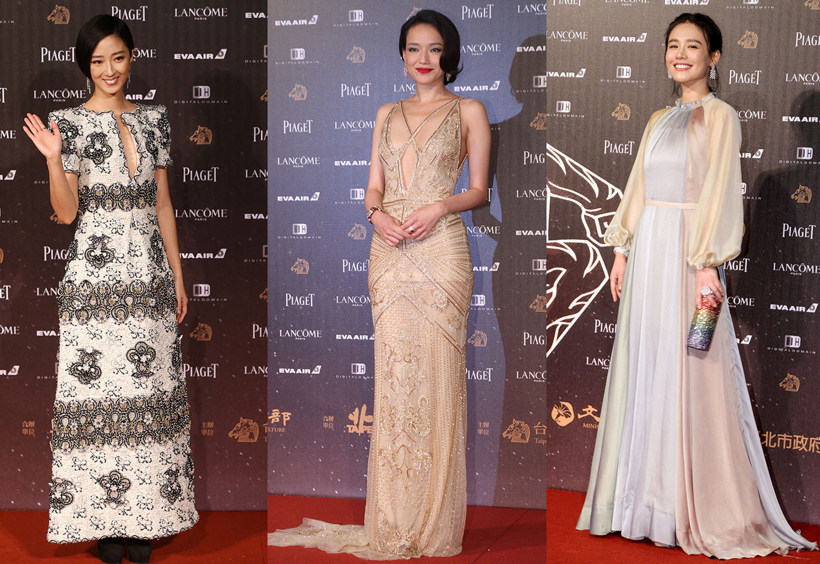 golden horse awards 2016 red carpet best looks featuring gwei lun mei shu qi ma si chun