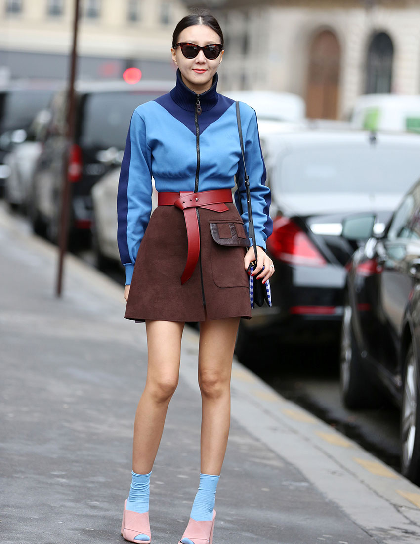 long socks and sandals fashion trend
