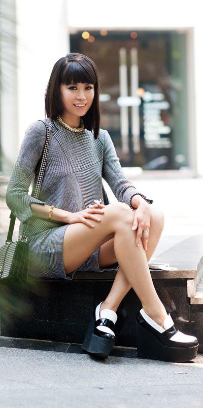 leaf greener column on fashion brand identity
